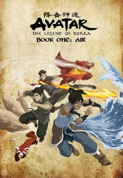 The Legend of Korra Book 1: Air
