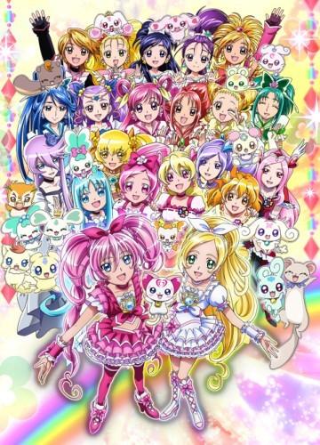 Eiga Precure All Stars DX3: Mirai ni Todoke! Sekai o Tsunagu Niji-iro no Hana