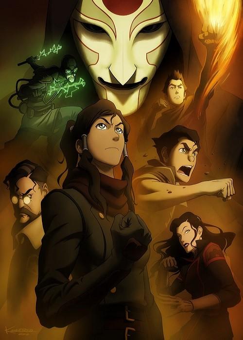 The Legend of Korra Book 2: Spirits