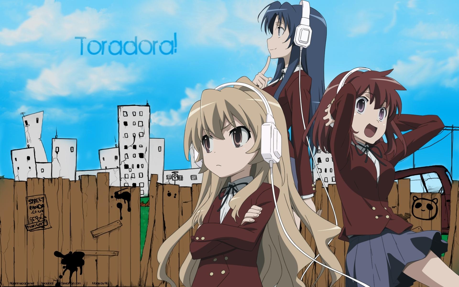 Toradora!   Anime databáze Happo.cz