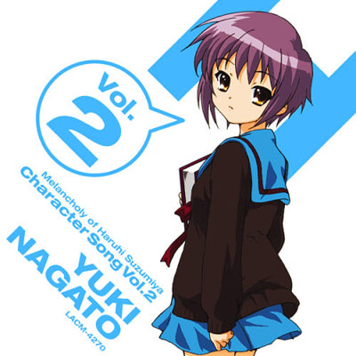 Suzumiya Haruhi no Yuuutsu Character Song Vol. 2 - Nagato Yuki