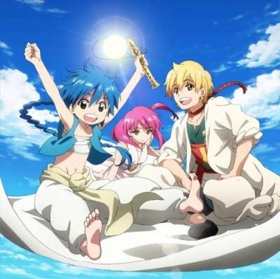 Magi Character Song 01: Aladdin / Alibaba / Morgiana